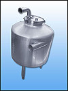 Stainless Steel Vacuum Receiver Tank- 30 gallons