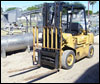 Propane Hyster Fork Truck - 5000 lbs.